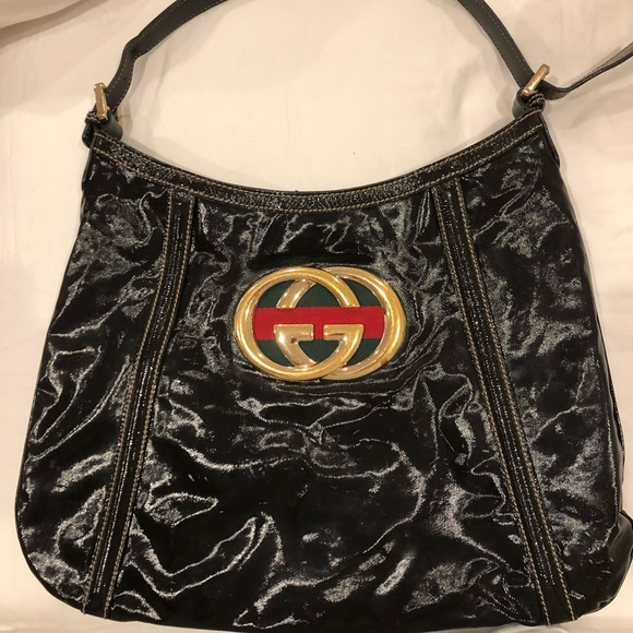 1854ba7818a4 Gucci Bags | Additional Pictures Of Black Britt Hobo Bag | Poshmark